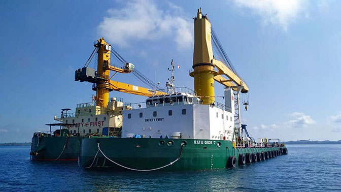 Ratu Giok 7 milik PT Kartika Samudra Adijaya